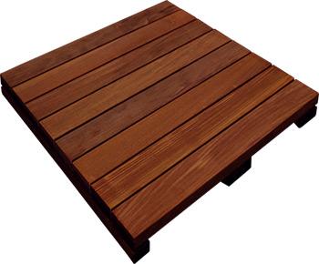 24x24 Ipe Deck Tiles