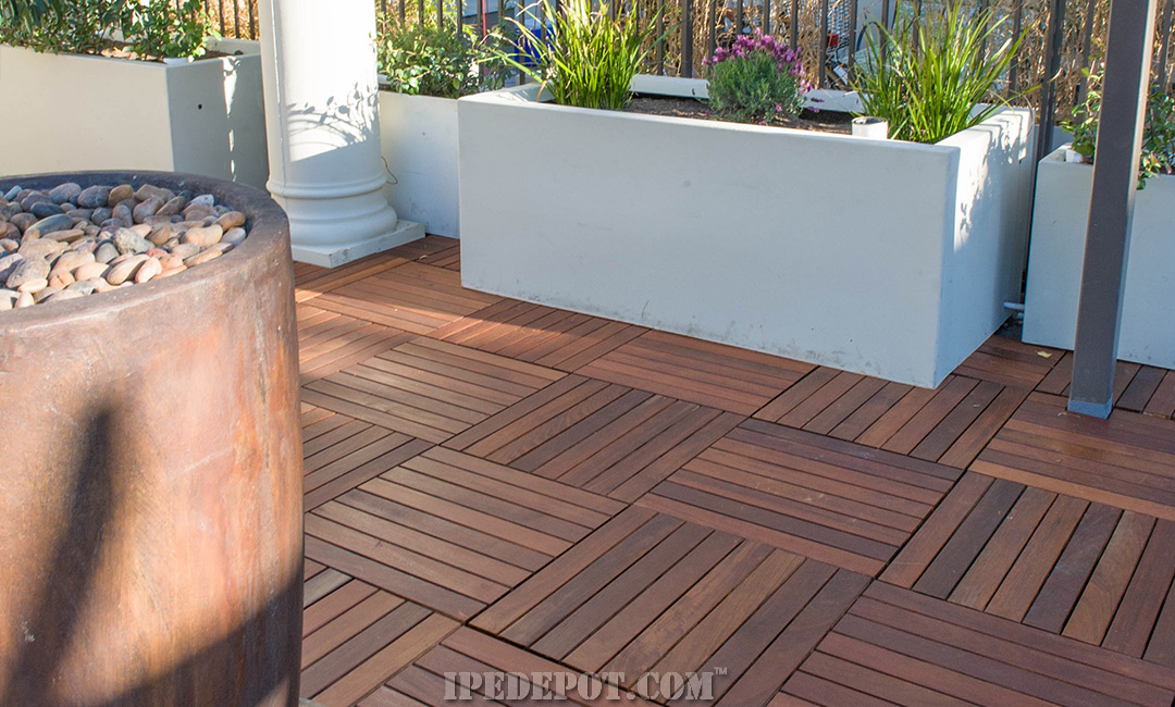 Ipe Deck Tiles Can Easily Transform Your Patio