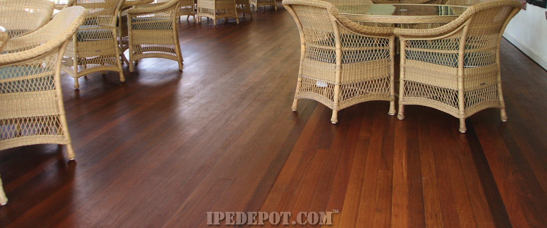 Tongue & Groove Ipe Porch Decking