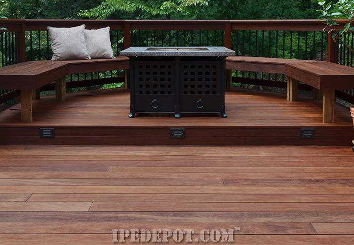 Ipe Deck. Porch Decking