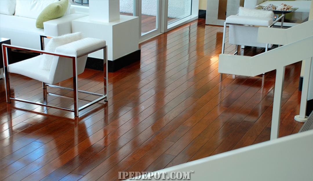 Exotic Flooring Custom Milled Ipe