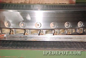 rotary planer head for Ipe